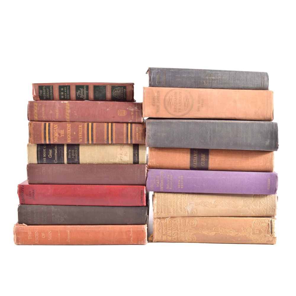 Antique and Vintage Hardcover Books