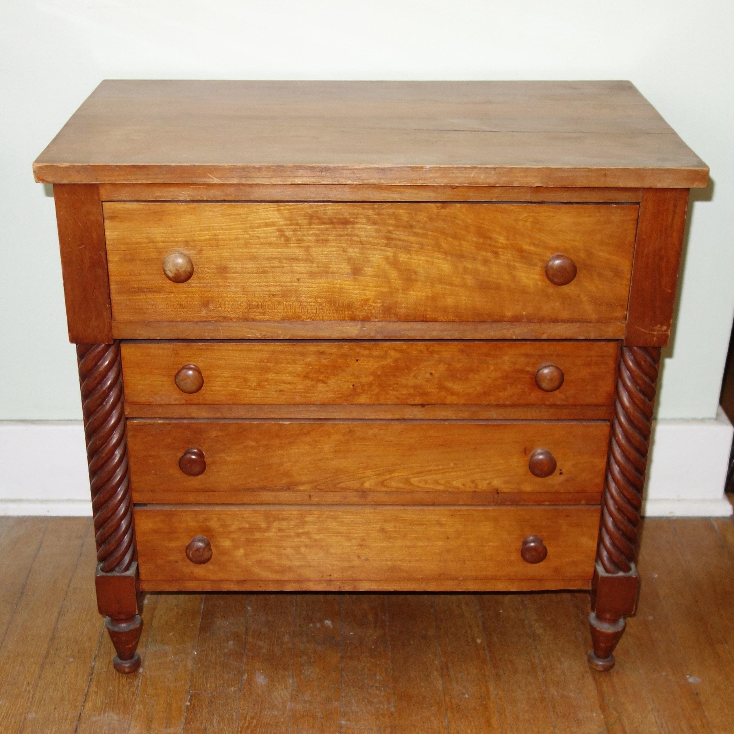 Vintage Oak Nightstand
