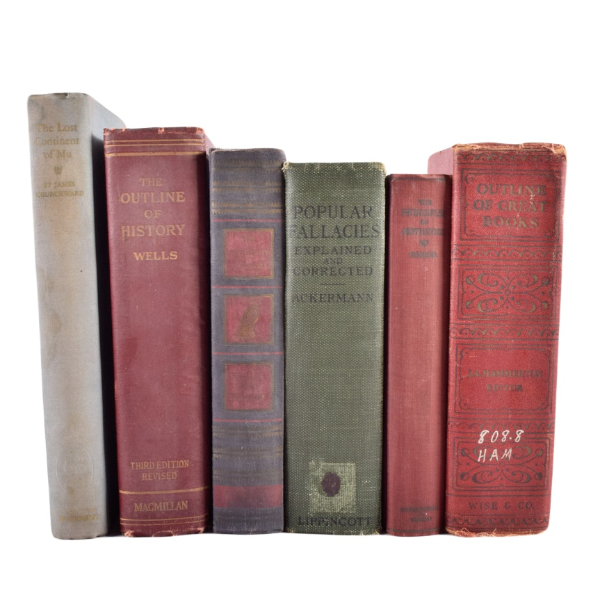 Collection of Vintage Non-Fiction Books