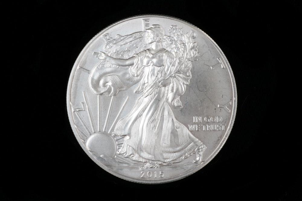 2015 American Eagle Silver Dollar