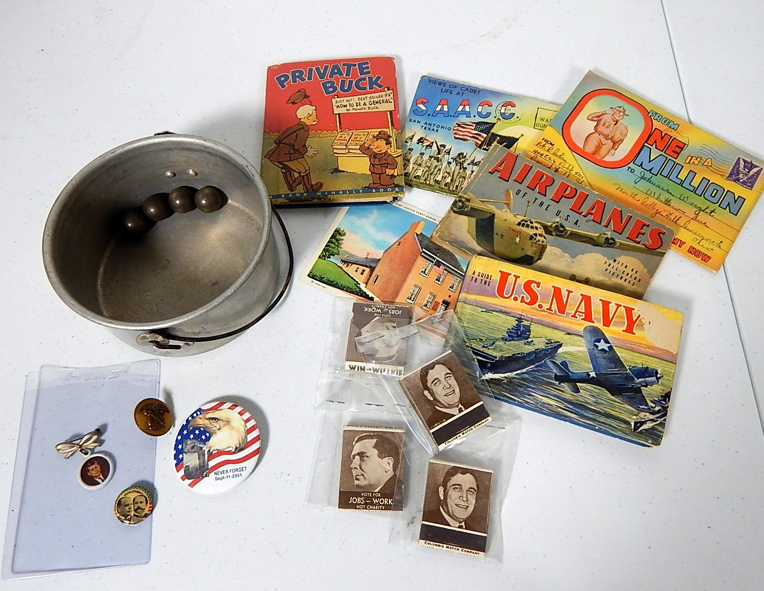 Military and Political Collectibles