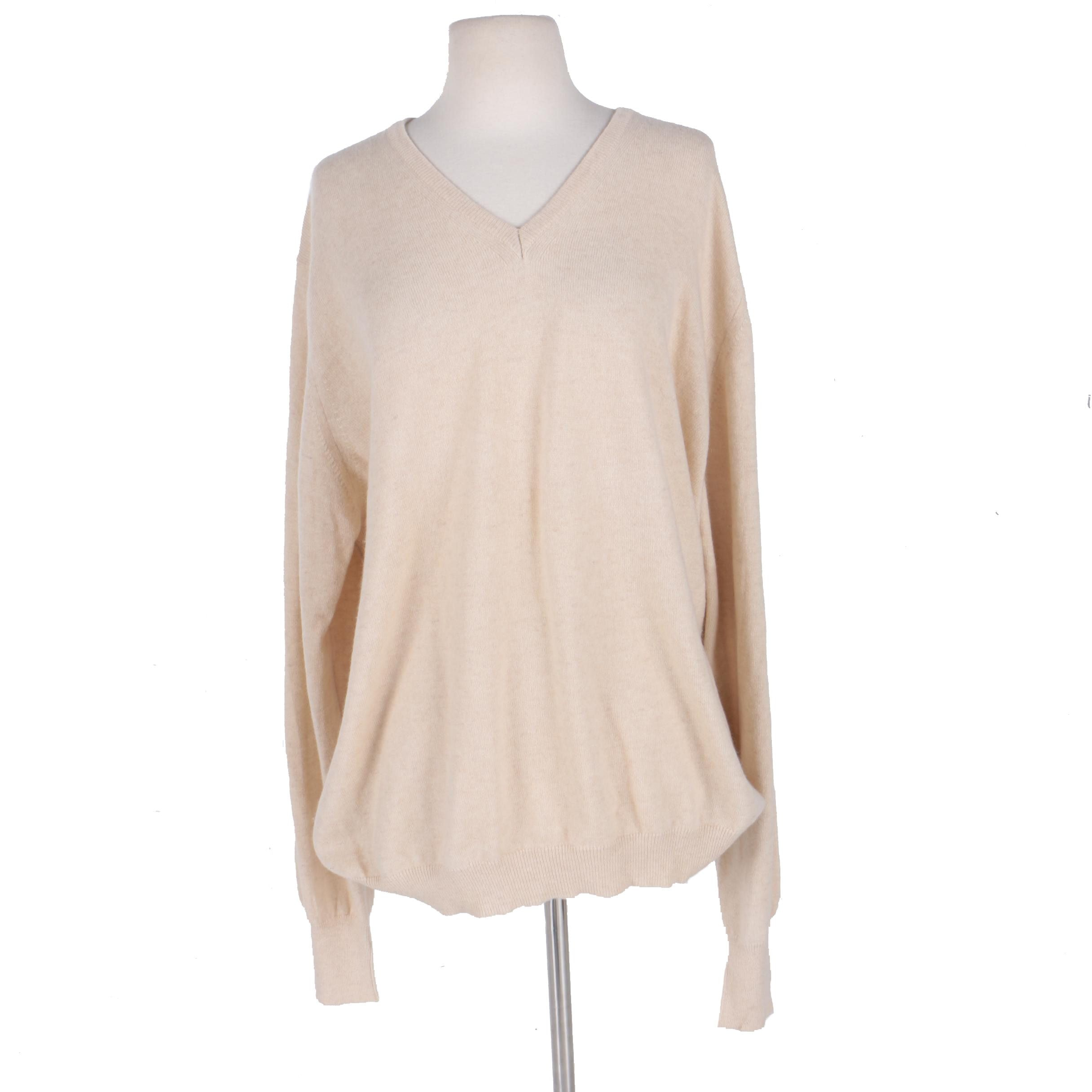 Men's Cashmere Burberry Sweater