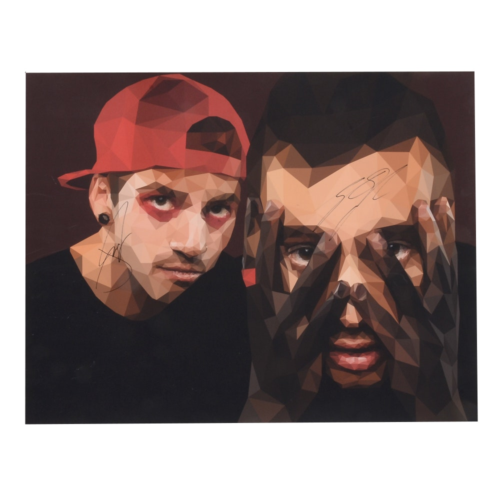 Twenty One Pilots Signed Poster