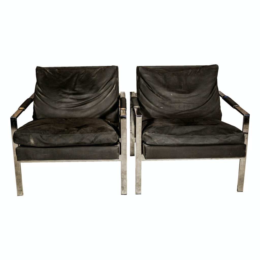 """Design Classic"" Lounge Chairs by Milo Baughman for Thayer Coggin"