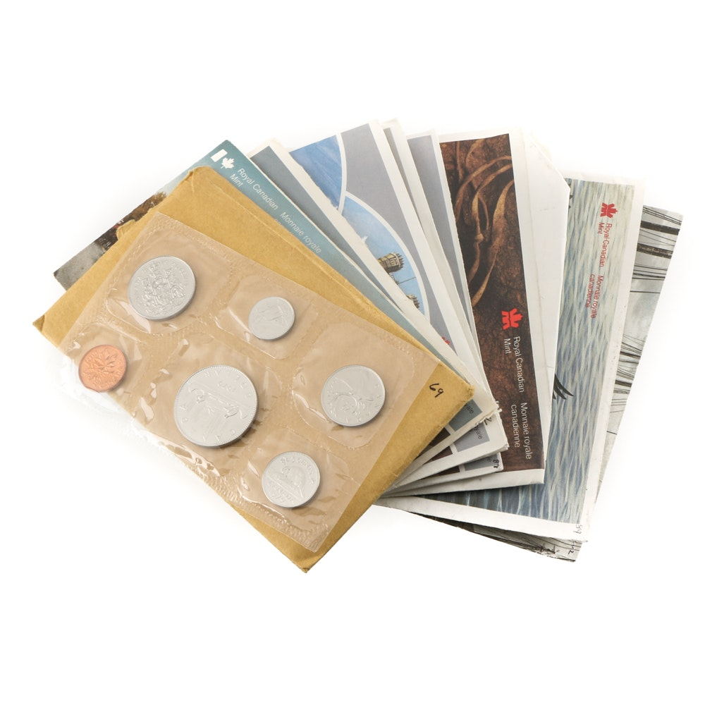 Ten Royal Canadian Mint Uncirculated Sets