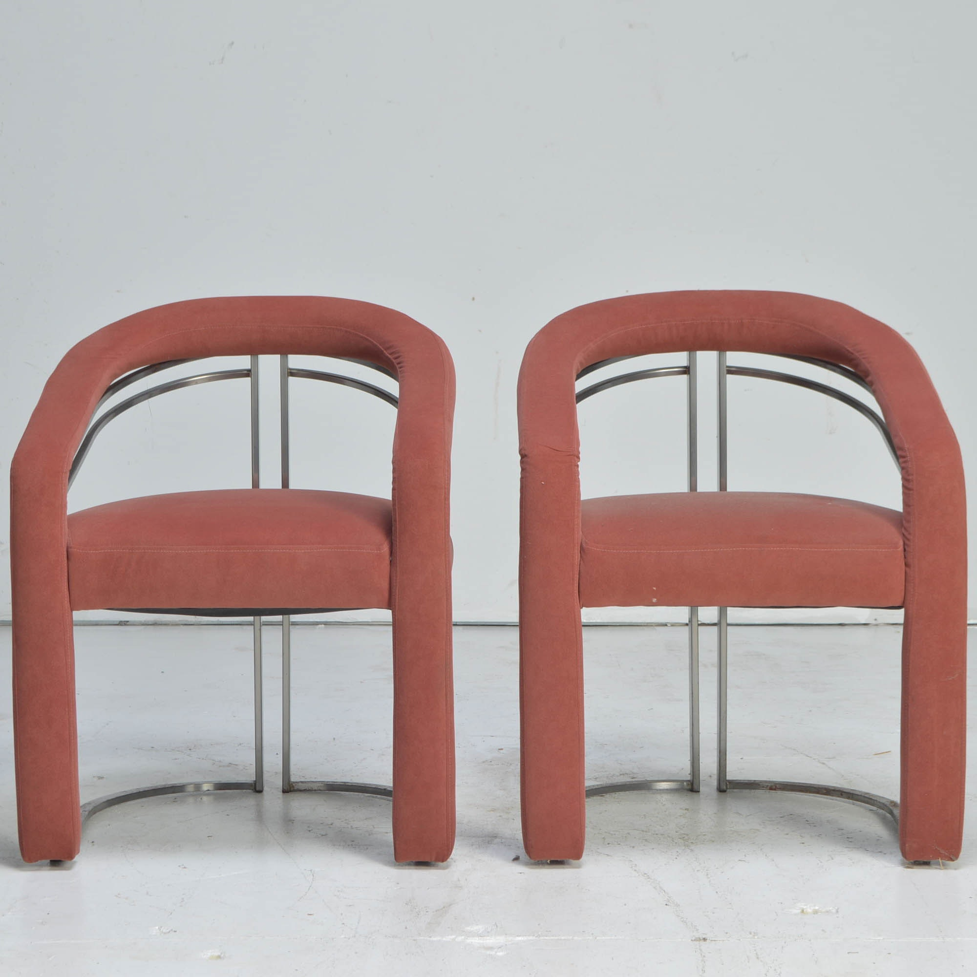 Vintage Deco Revival Club Chairs
