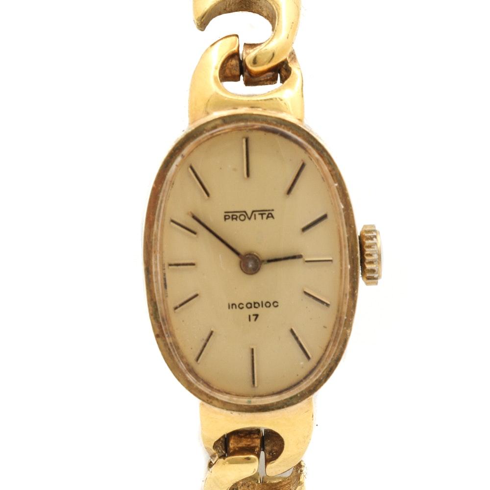 Provita Stainless Steel Wristwatch