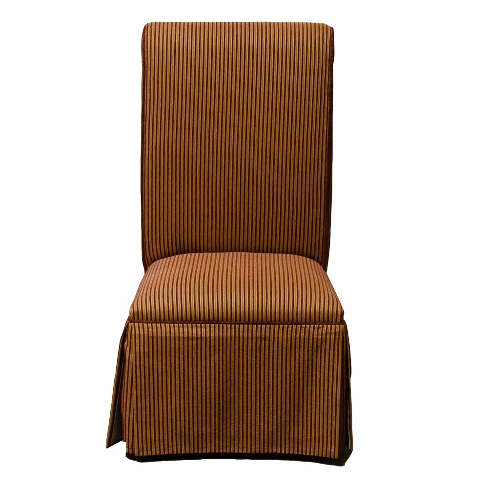 Upholstered Parsons Style Dining Chair