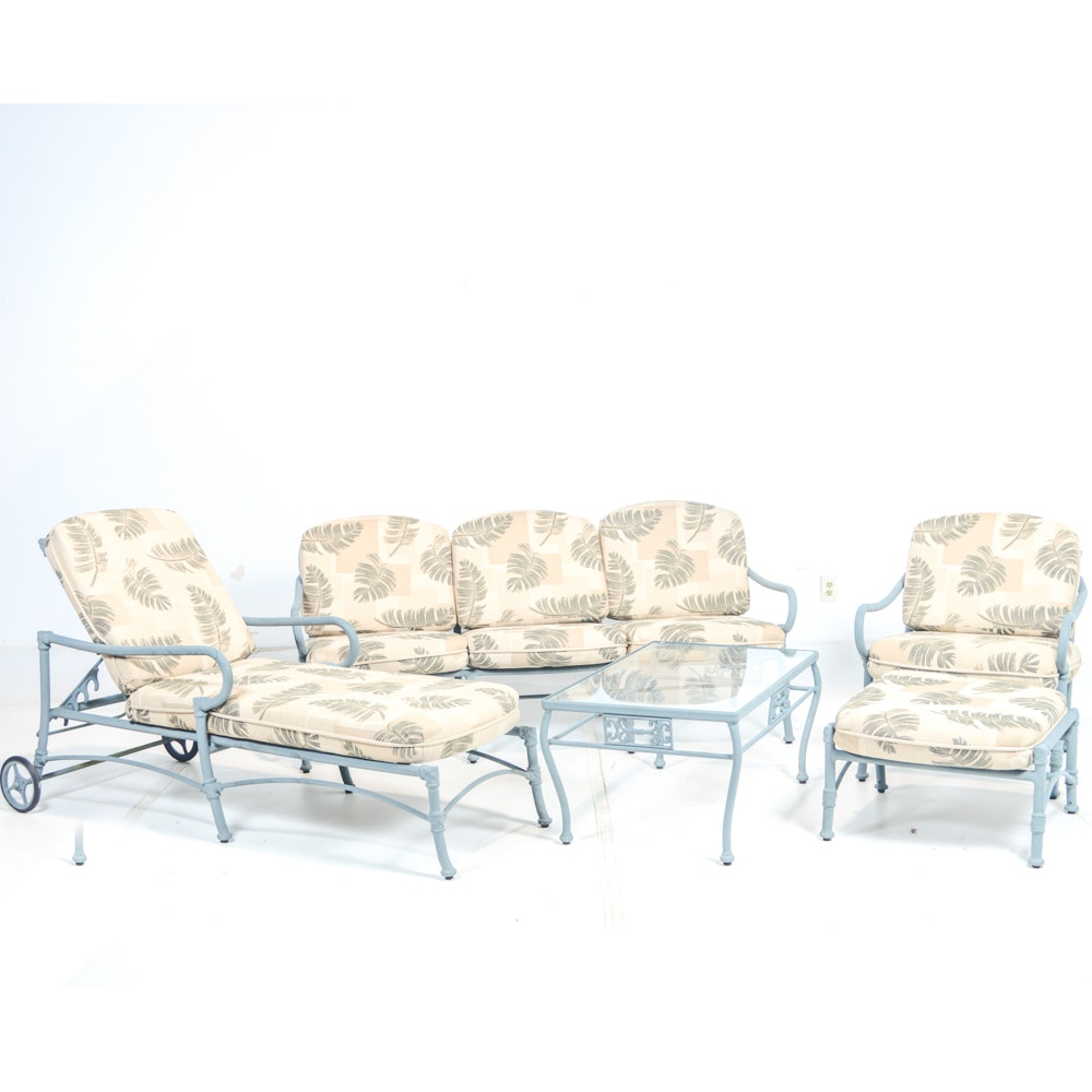 Woodard Patio Furniture Set