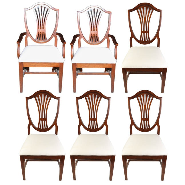 Young Henkel Sheraton Dining Chairs