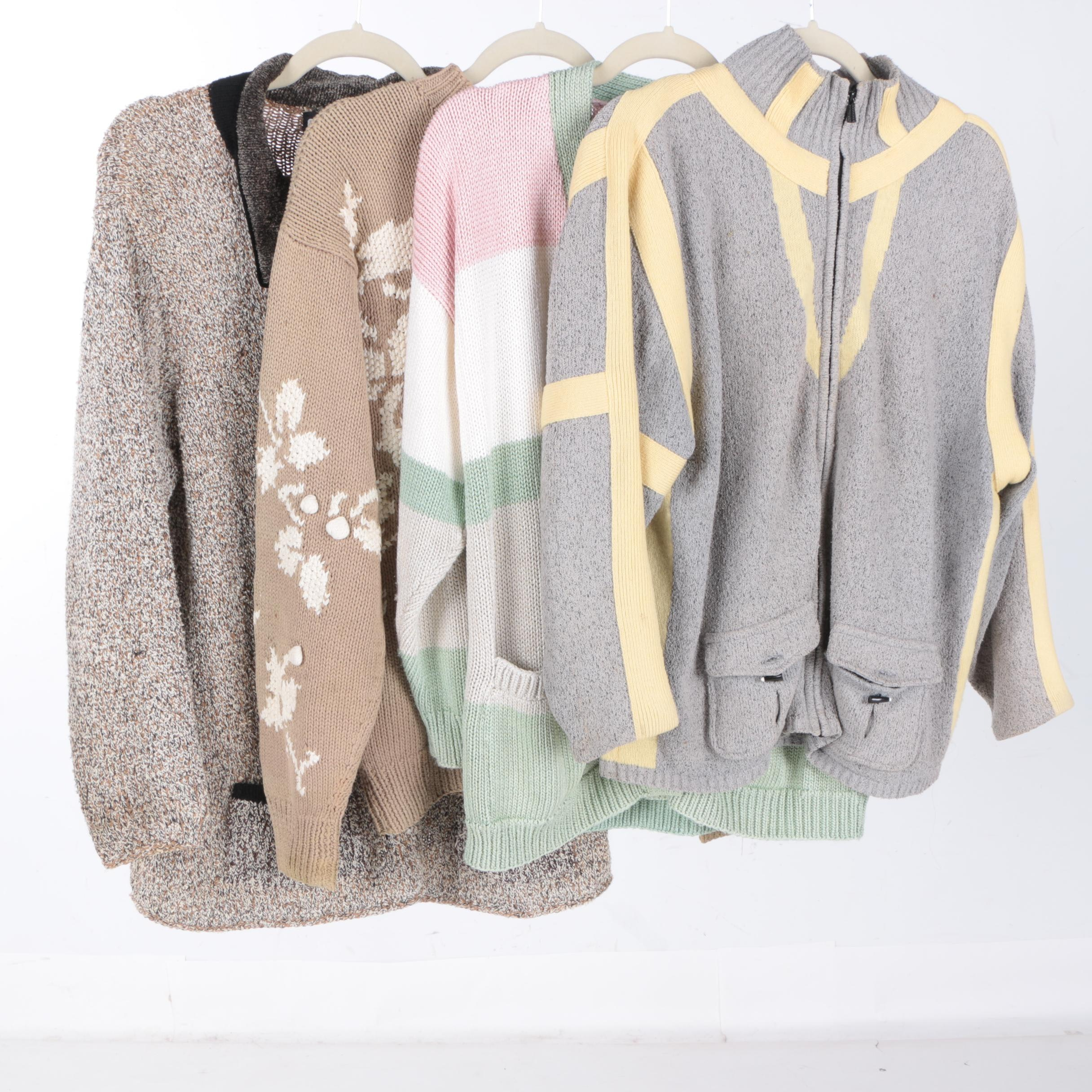 Women's Sweaters Including IZOD