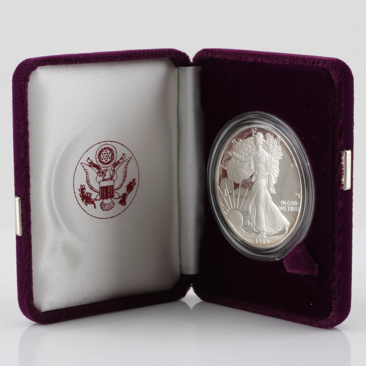 1989-S One Dollar U.S. Silver Eagle Proof Coin