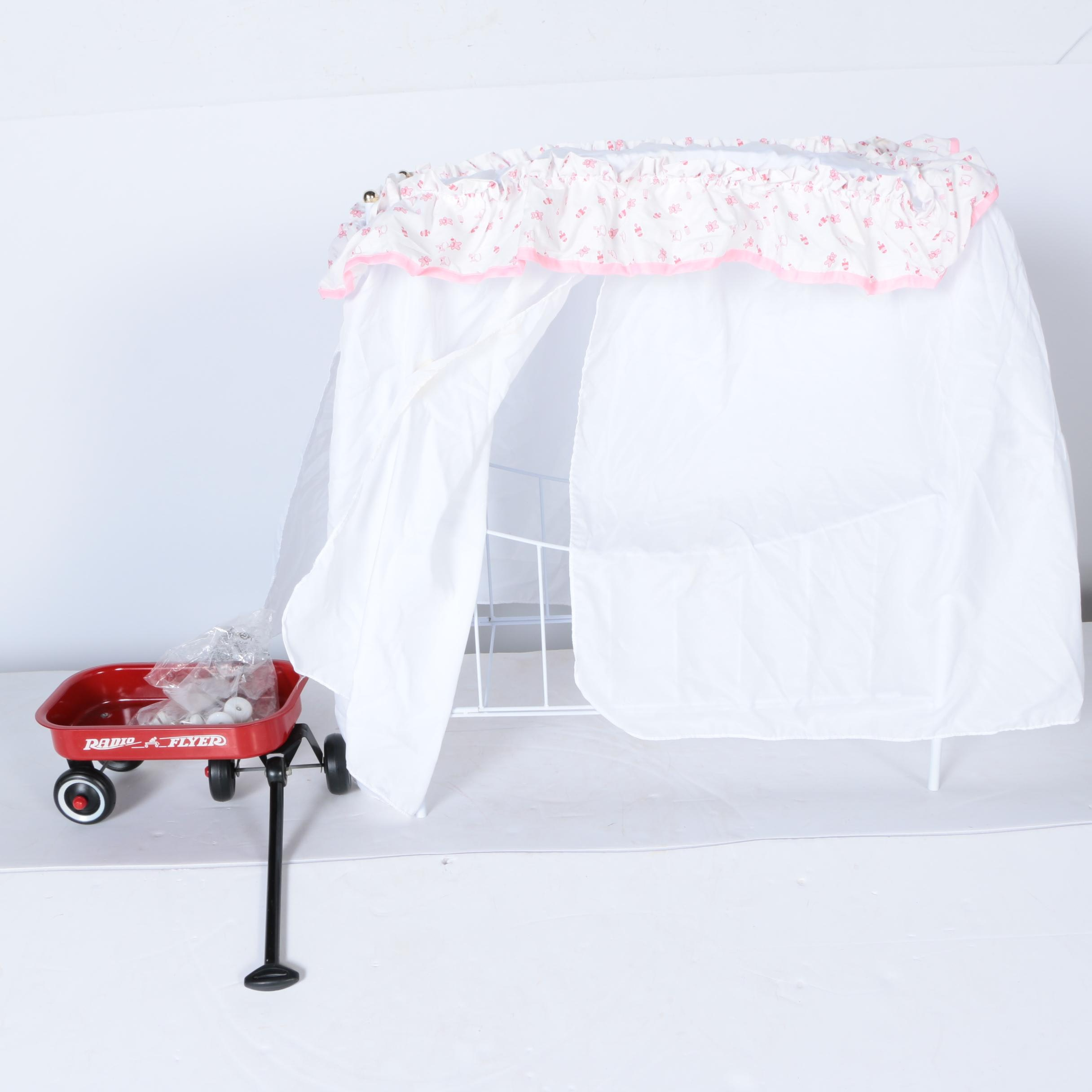 Doll Bed and Wagon