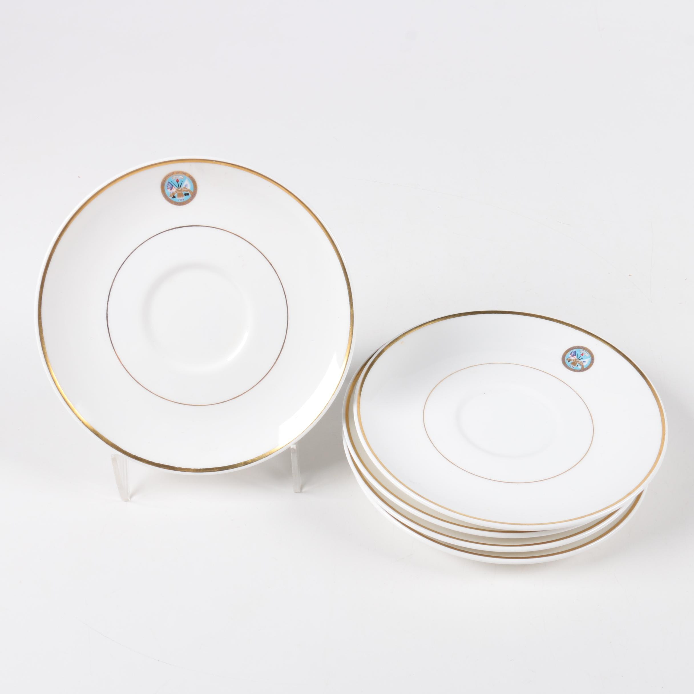 """Dudson Fine China """"Departmente of the Army U.S.A."""" Tableware"""