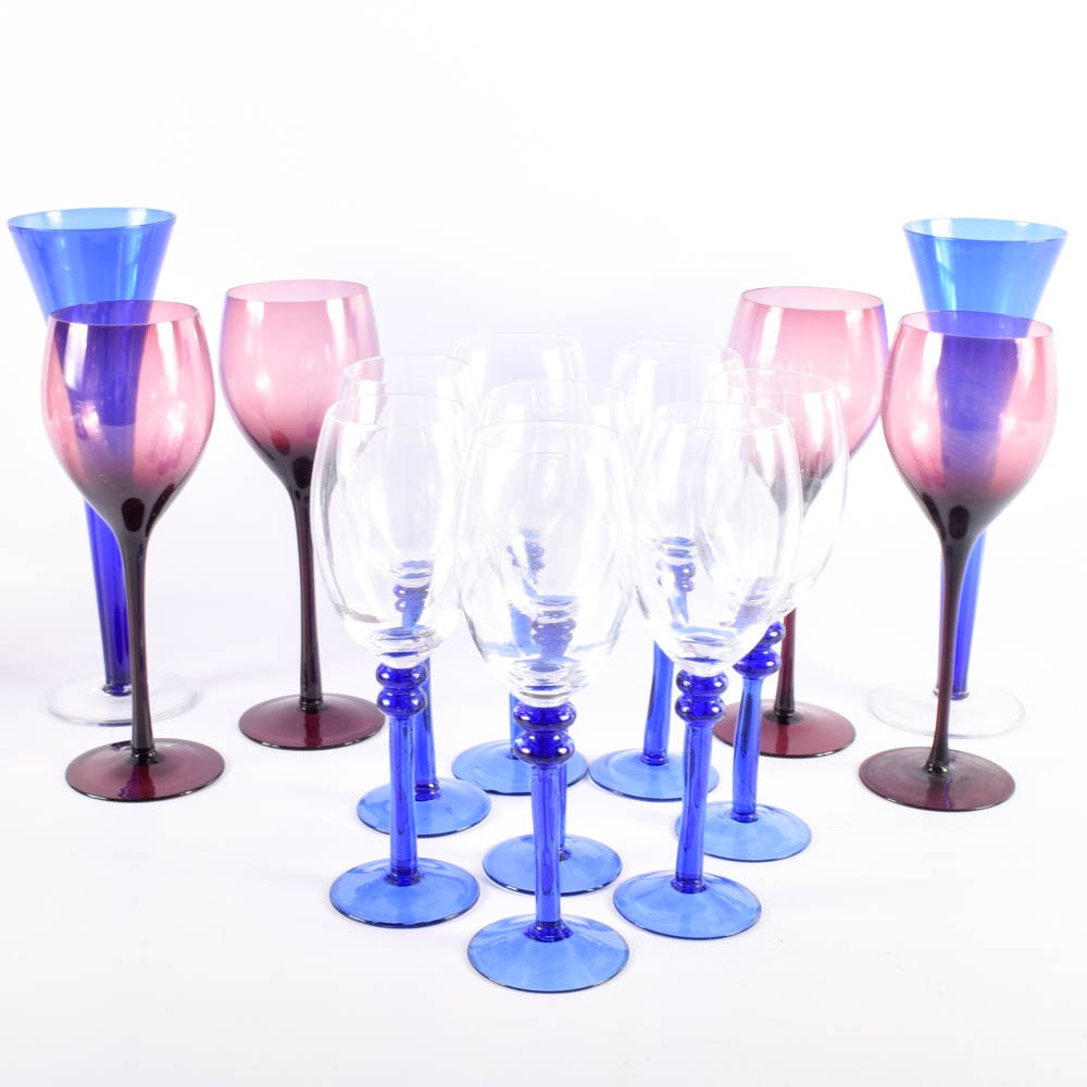 Colorful Stemware