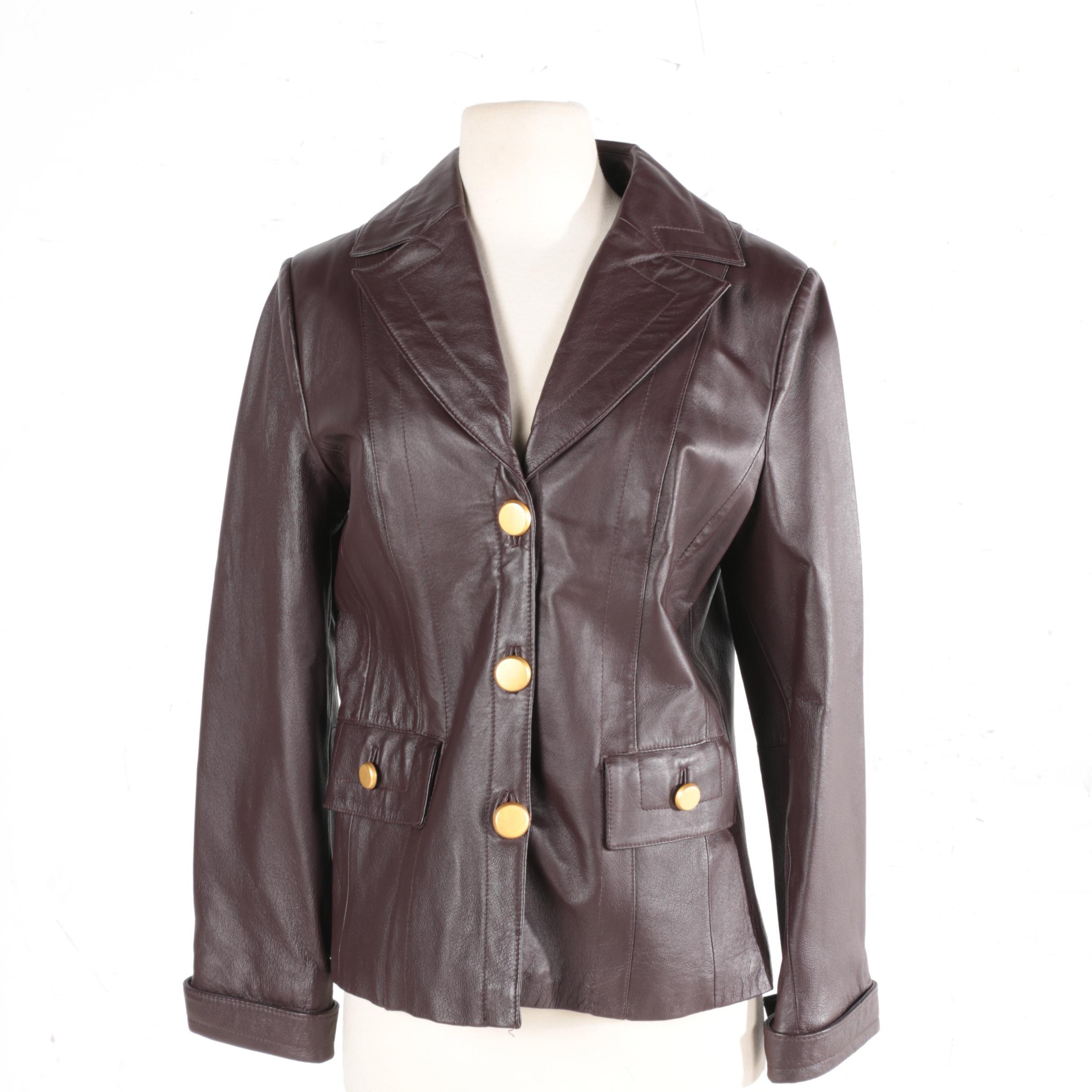 Women's Terry Lewis Leather Jacket