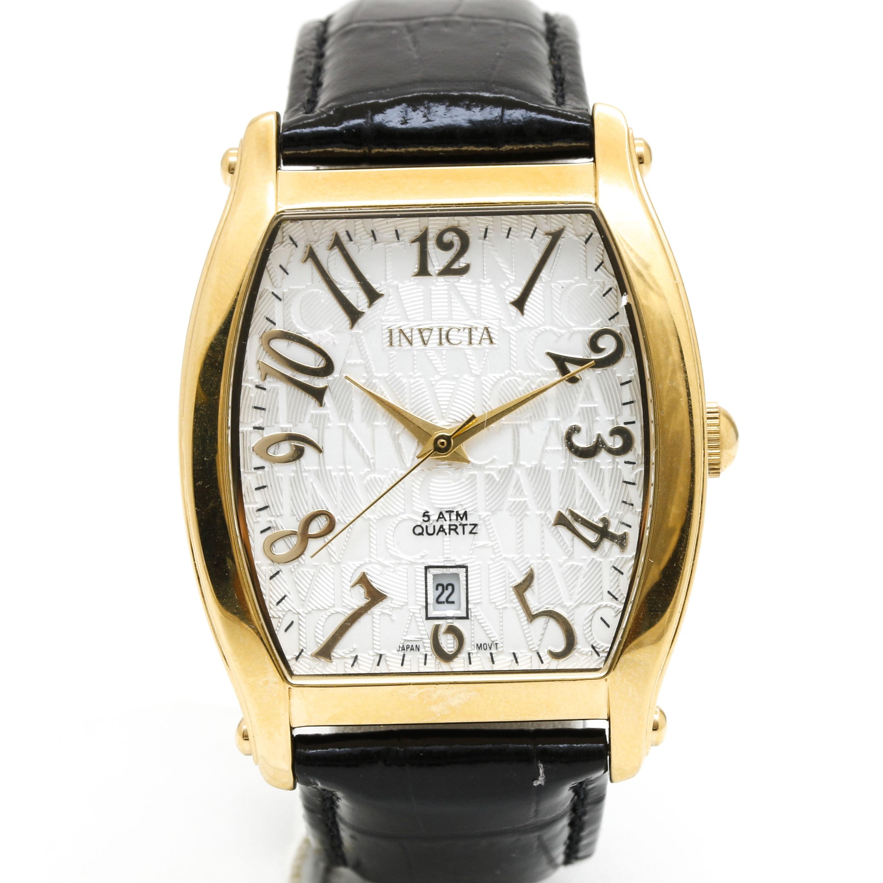 Stainless Steel Invicta Wristwatch