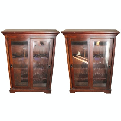 Matching Pair Of Bookcase Cabinets