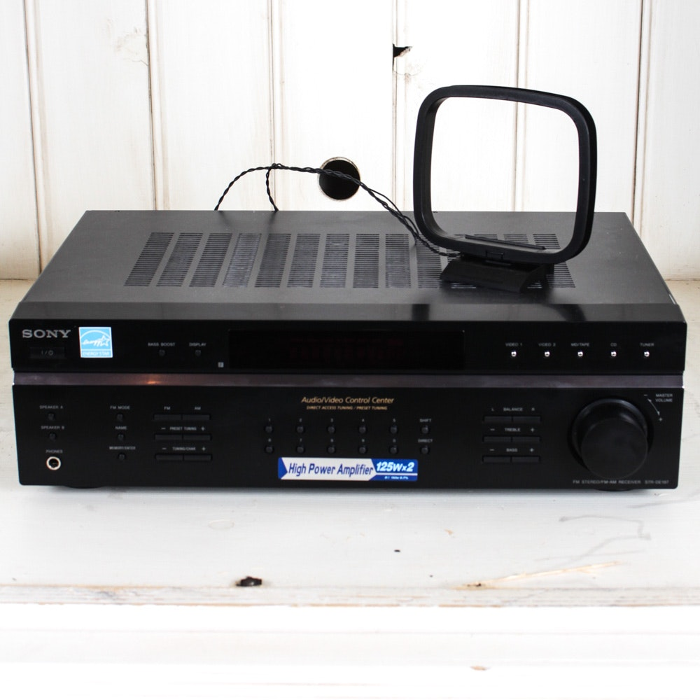 Sony Audio/Video Control Center Stereo Receiver