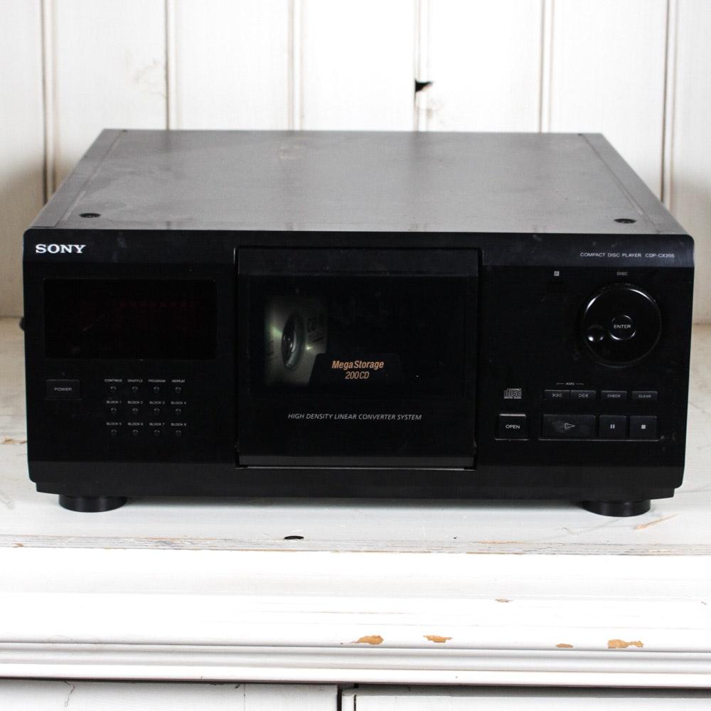 Sony MegaStorage 200-Disc CD Changer