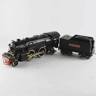 Lionel #1835E Standard Gauge Electric Locomotive and Pennsylvania Tender