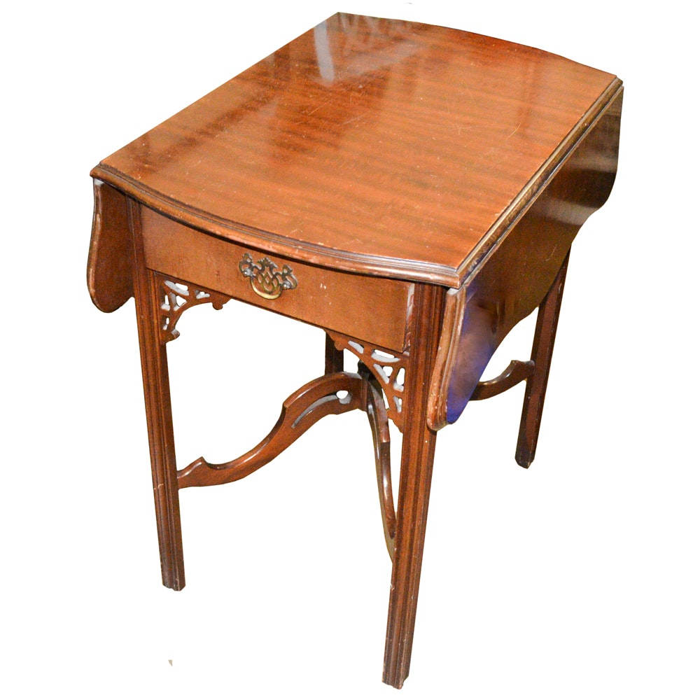 Chinese Chippendale Style Side Table
