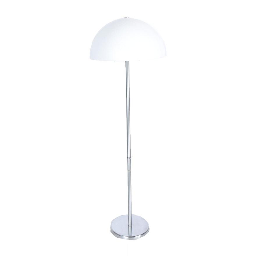 Mid Century Modern Mushroom Floor Lamp With Table Ebth