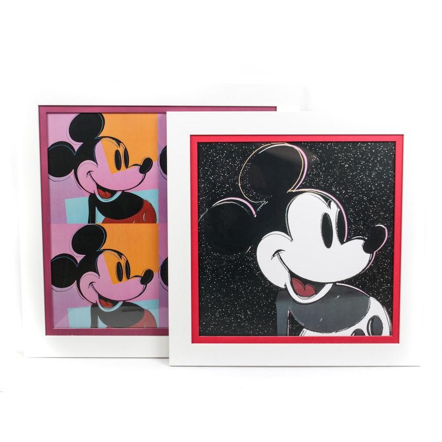 Pop-Art Mickey Mouse Wall Art : EBTH