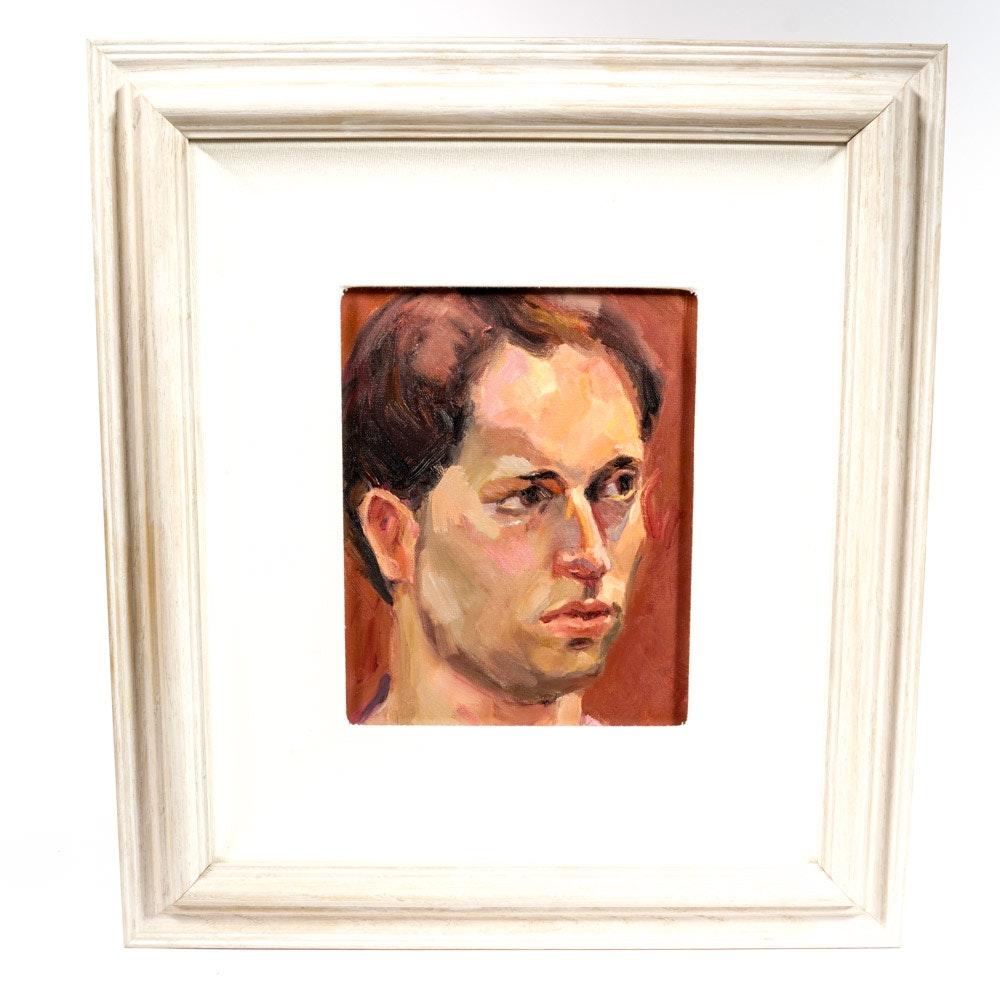 Valerie Merrill Original Oil Portrait