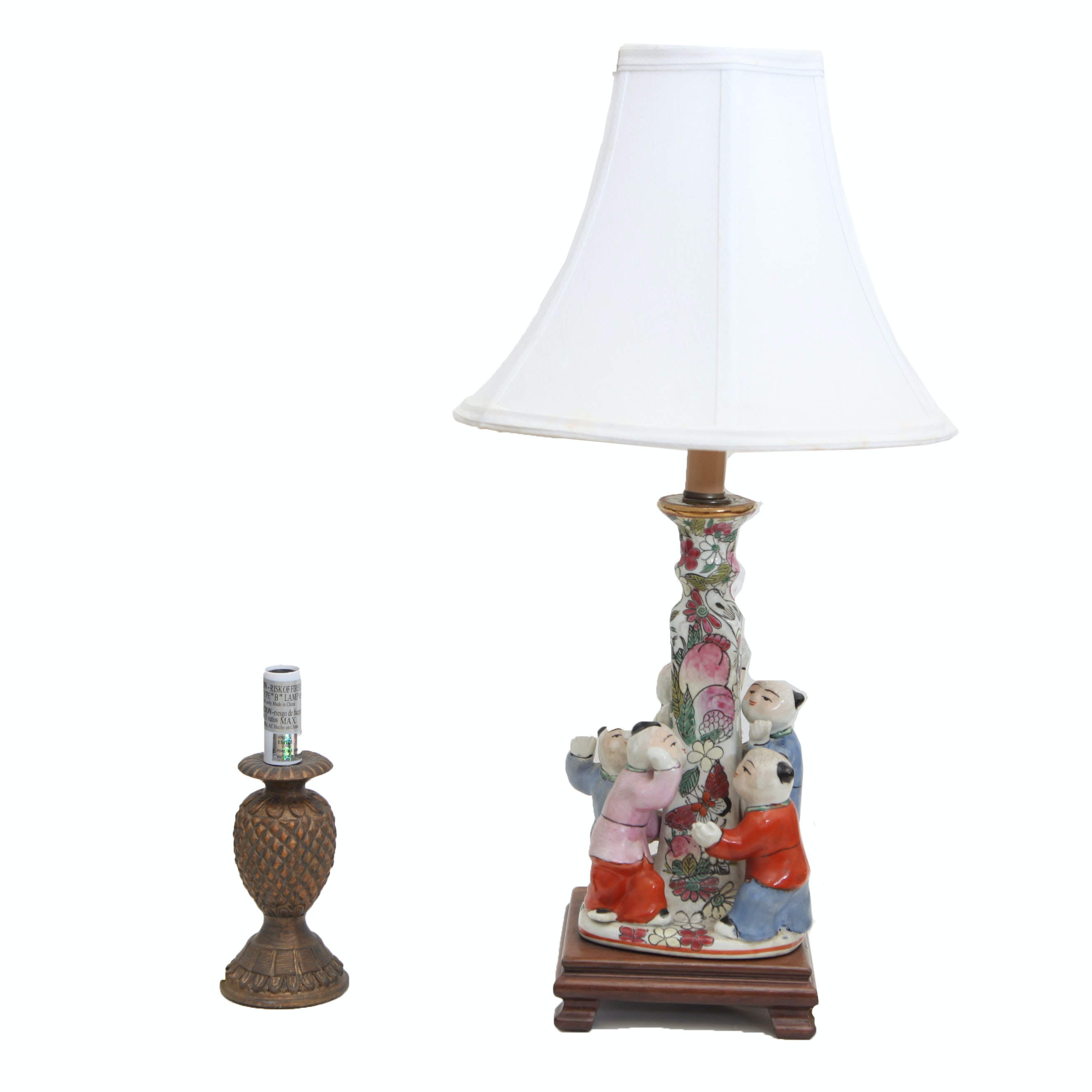 Asian Inspired Table Lamp
