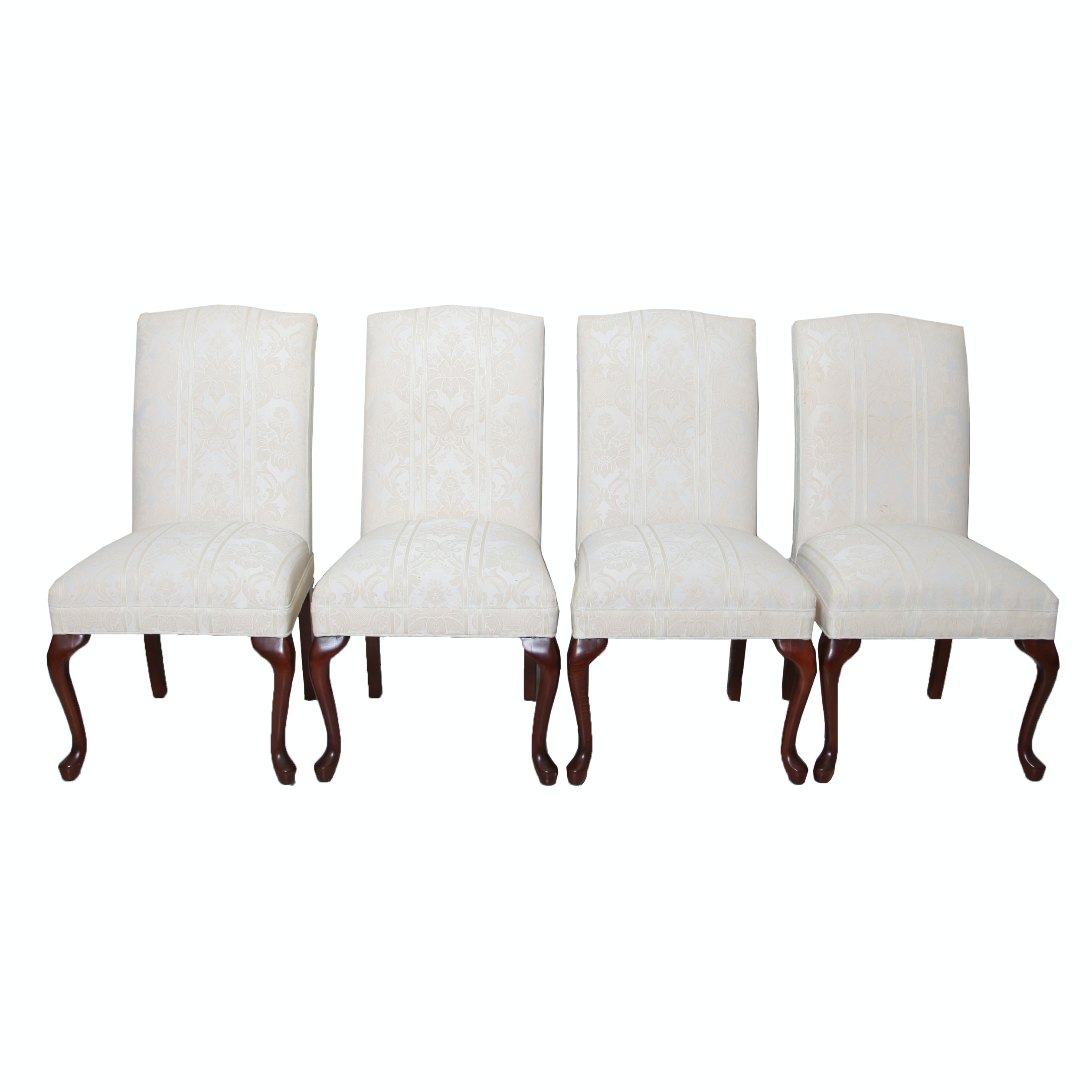 Four Upholstered Side Chairs
