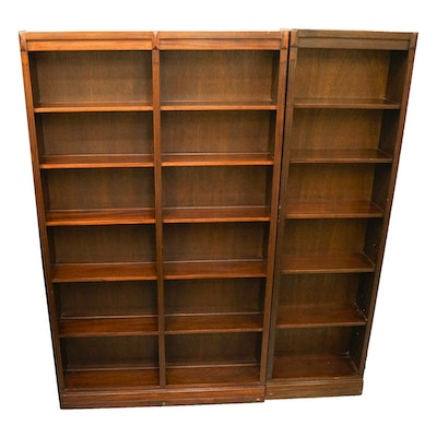 Set Of Wood Bookcases