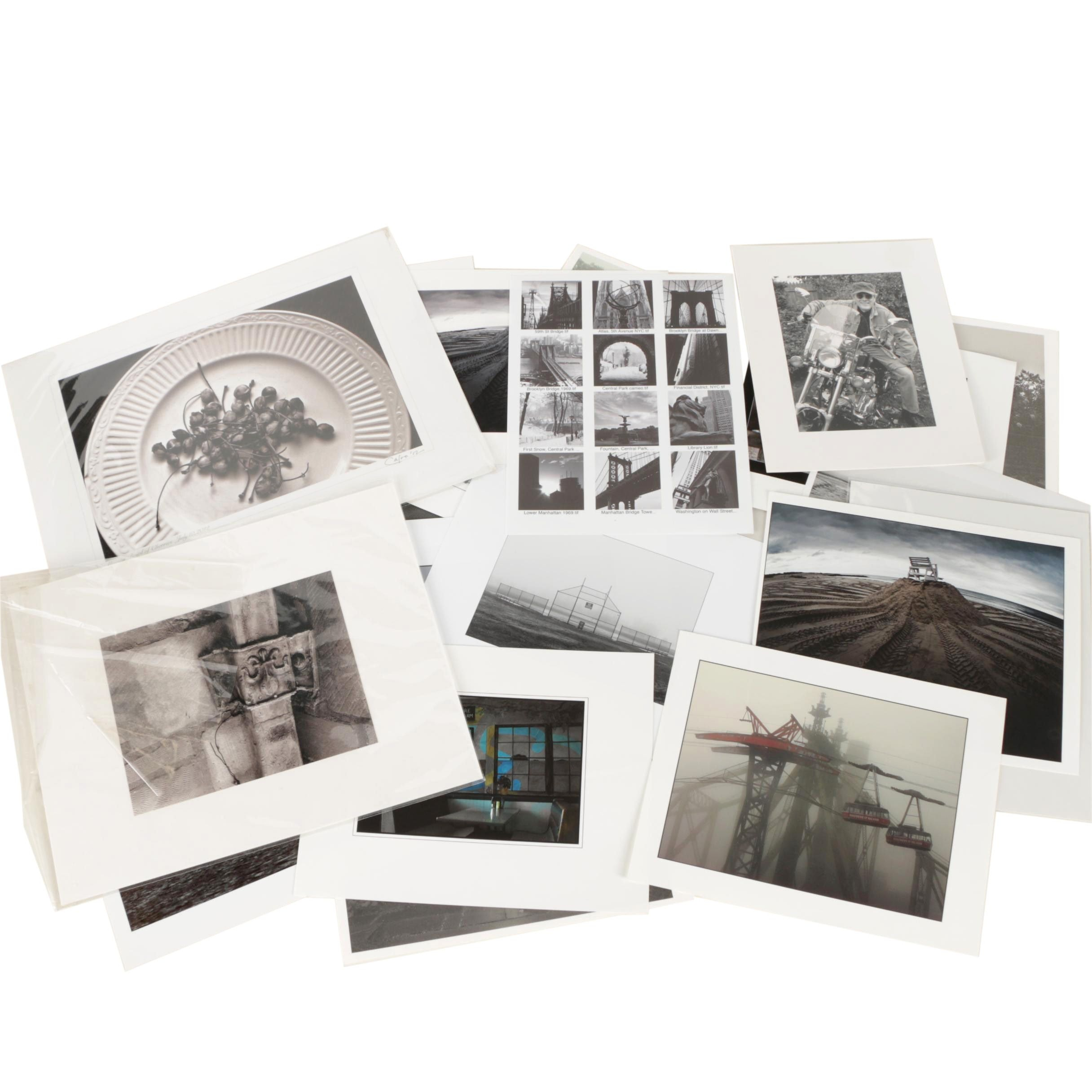 Collection of Digital Photographs Including Images of Landscapes