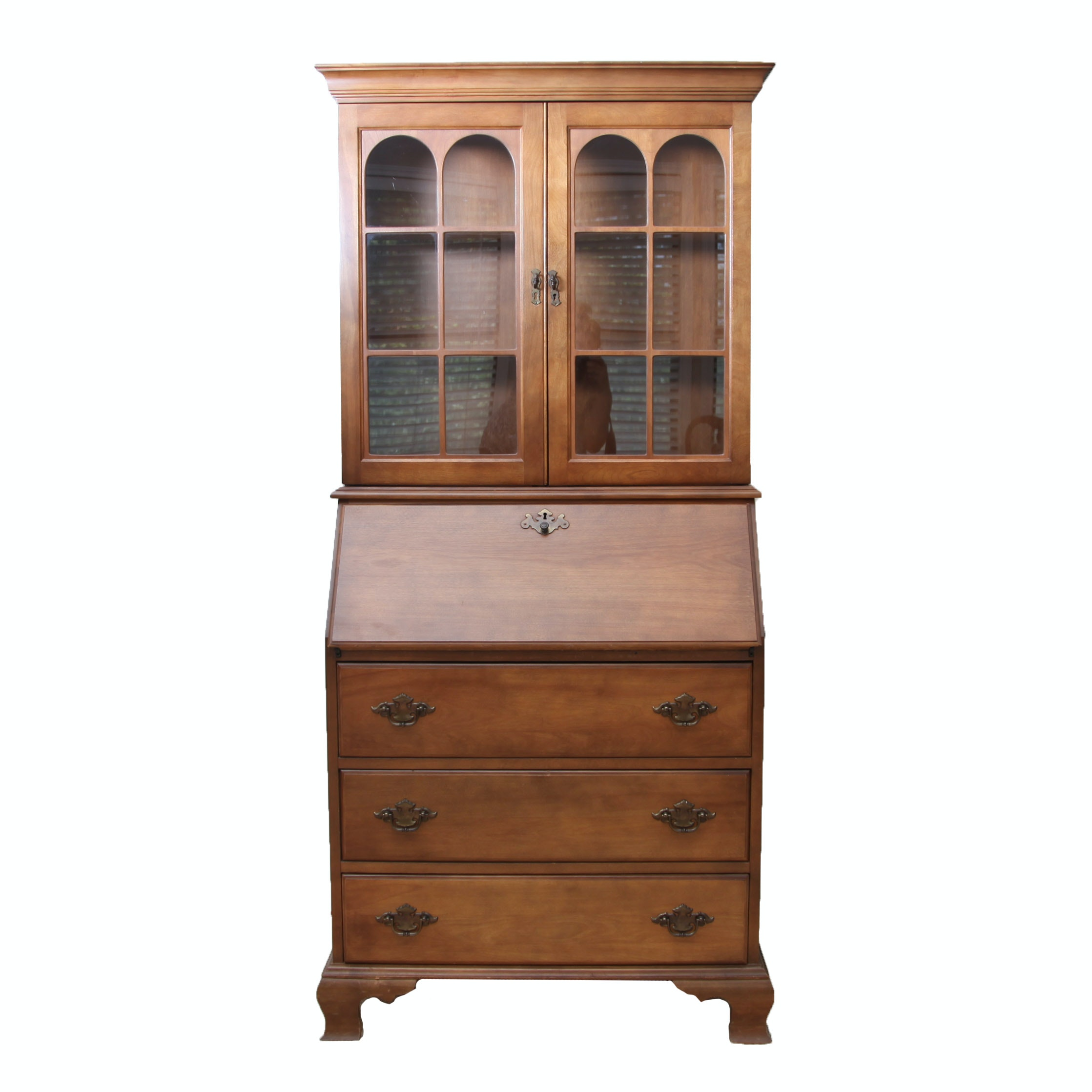 Colonial Style Drop Front Secretary