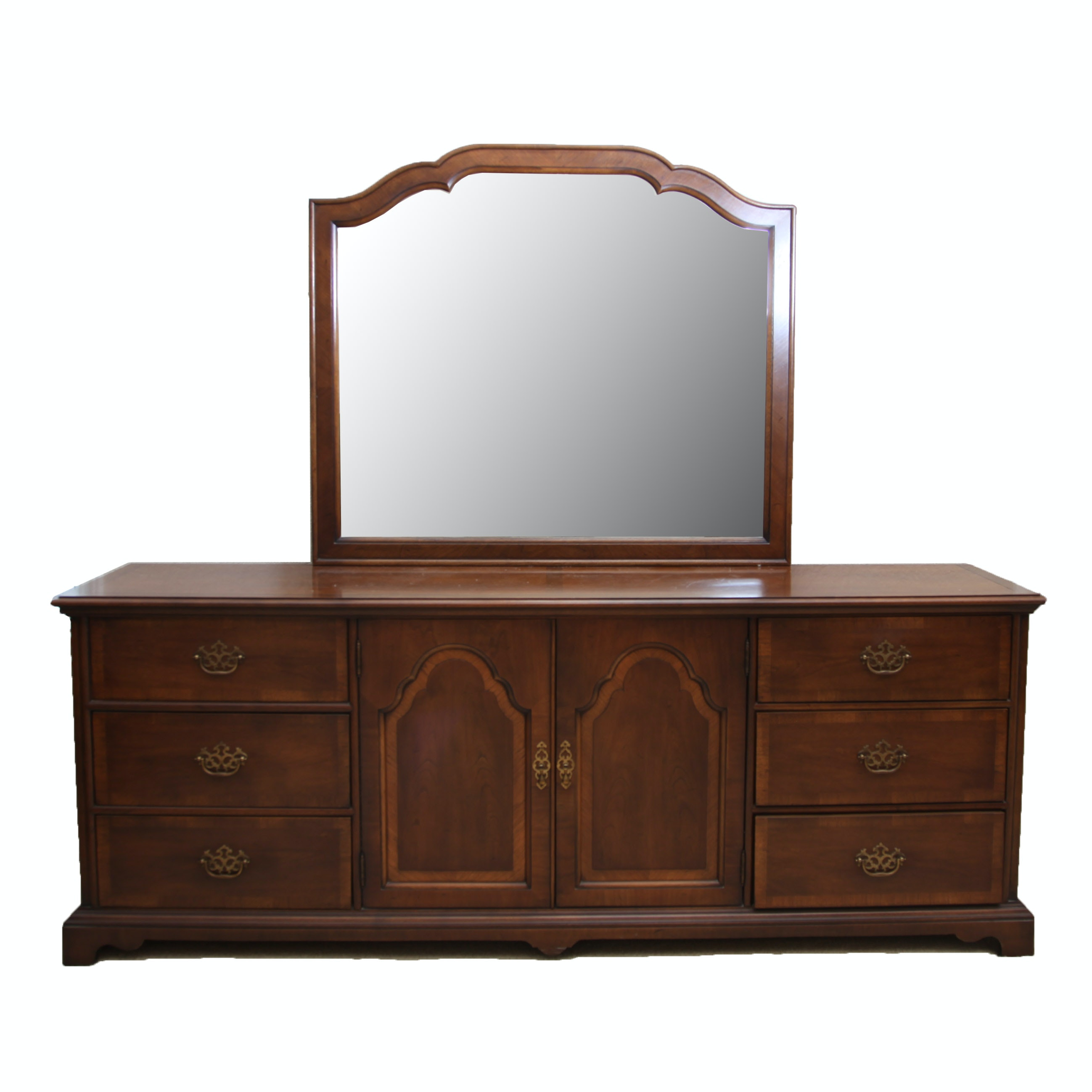 Chest of Drawers with Mirror by Century