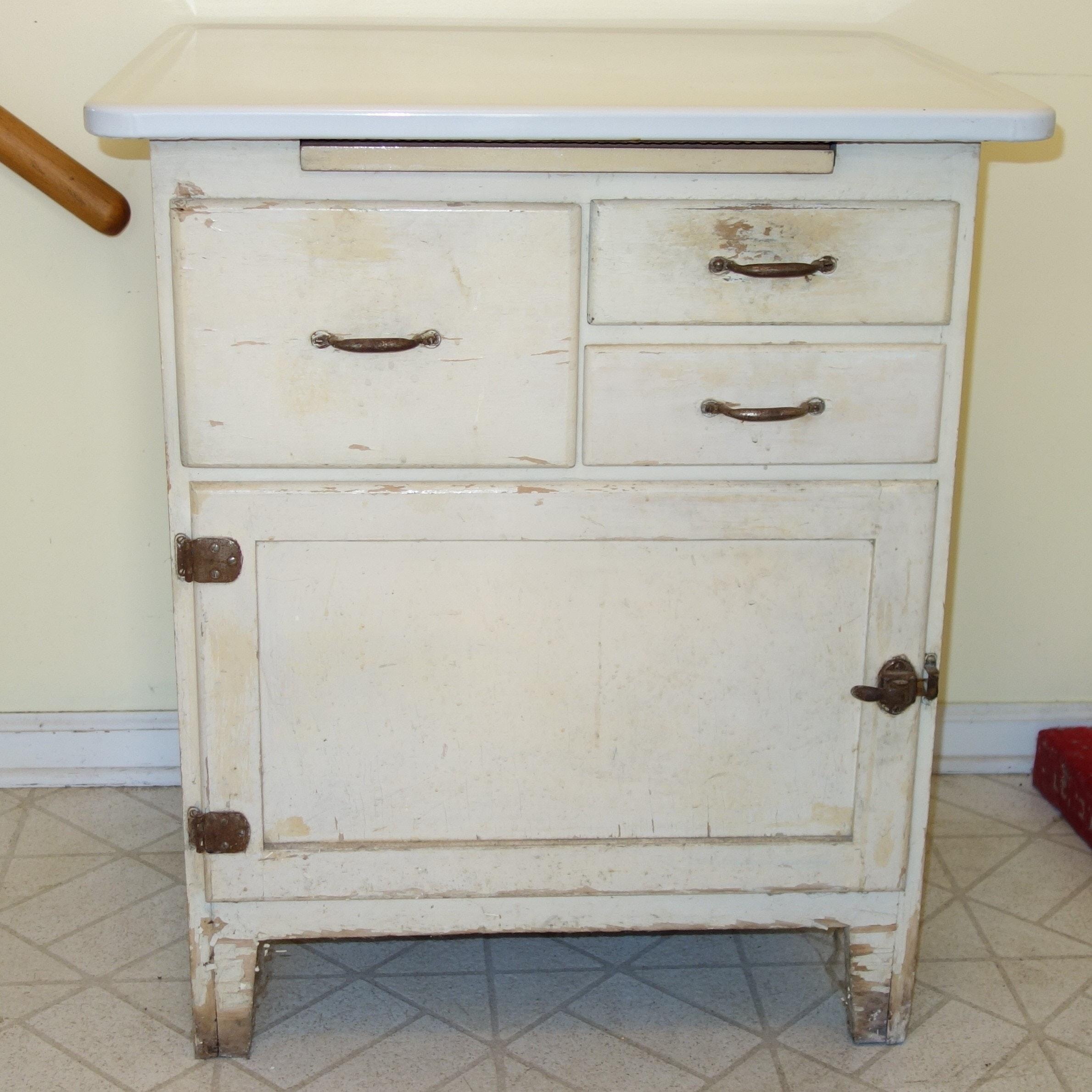 Vintage Utility Cabinet