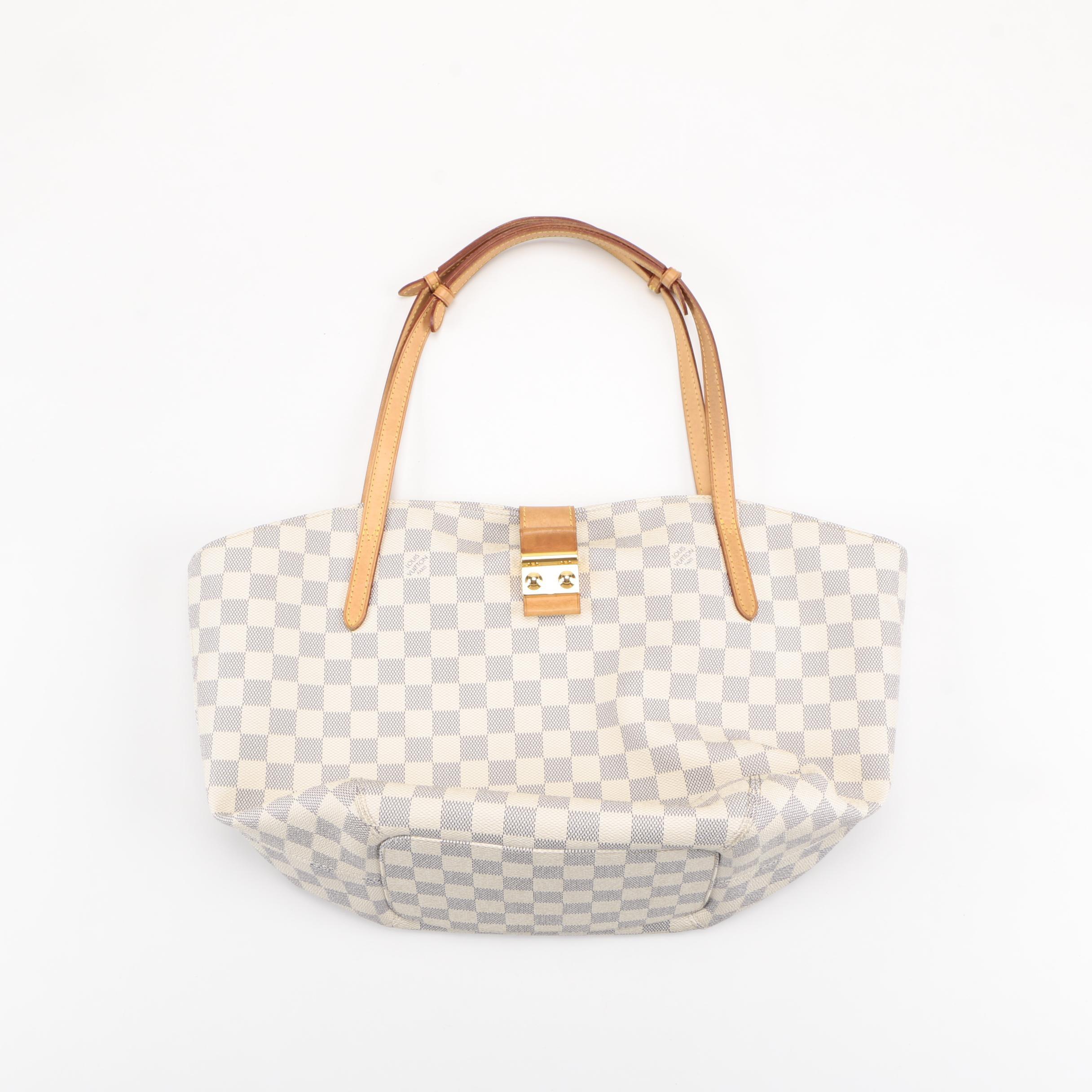 "Louis Vuitton Damier Azur ""Salina"" Handbag"
