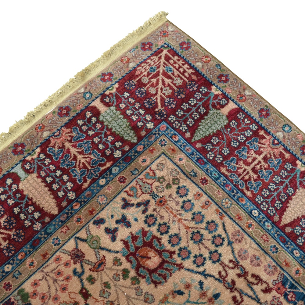 """Power-Loomed Karastan """"Persian Vase"""" Wool Area Rug"""