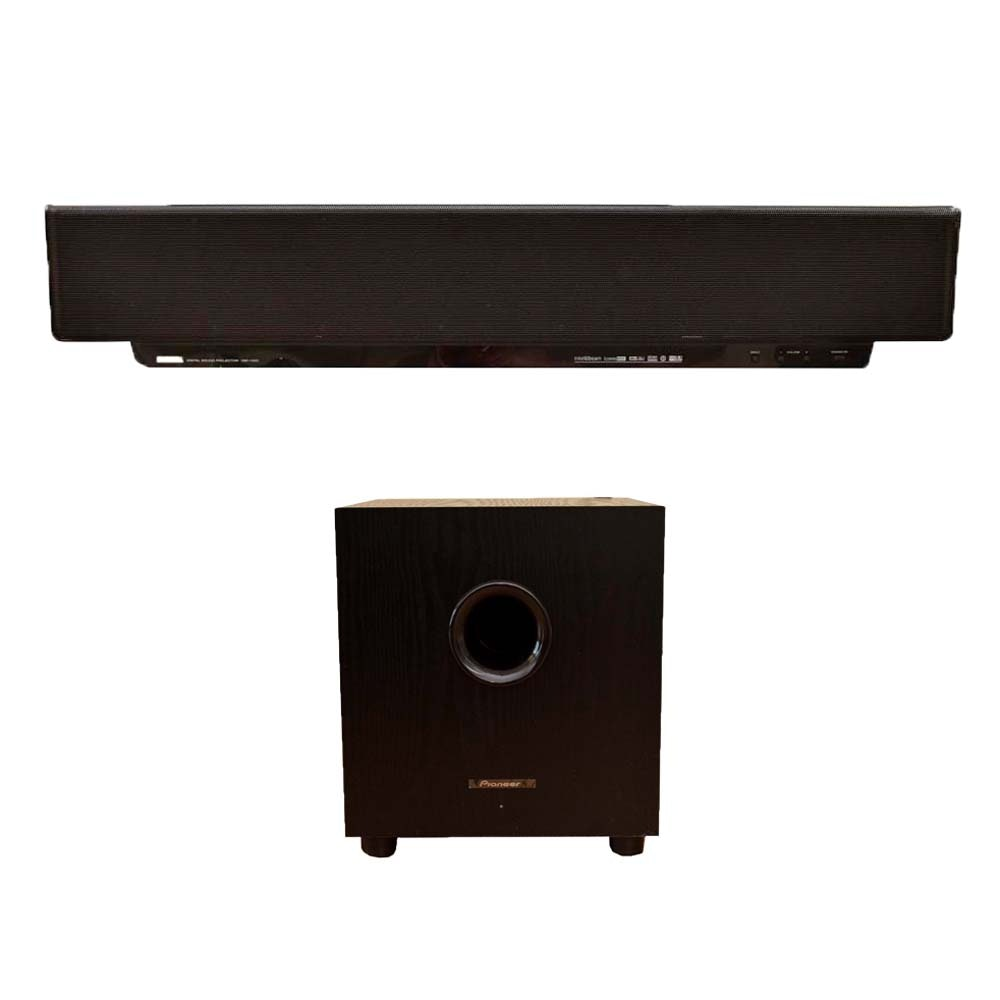 Yamaha Digital Sound Projector with Pioneer Subwoofer