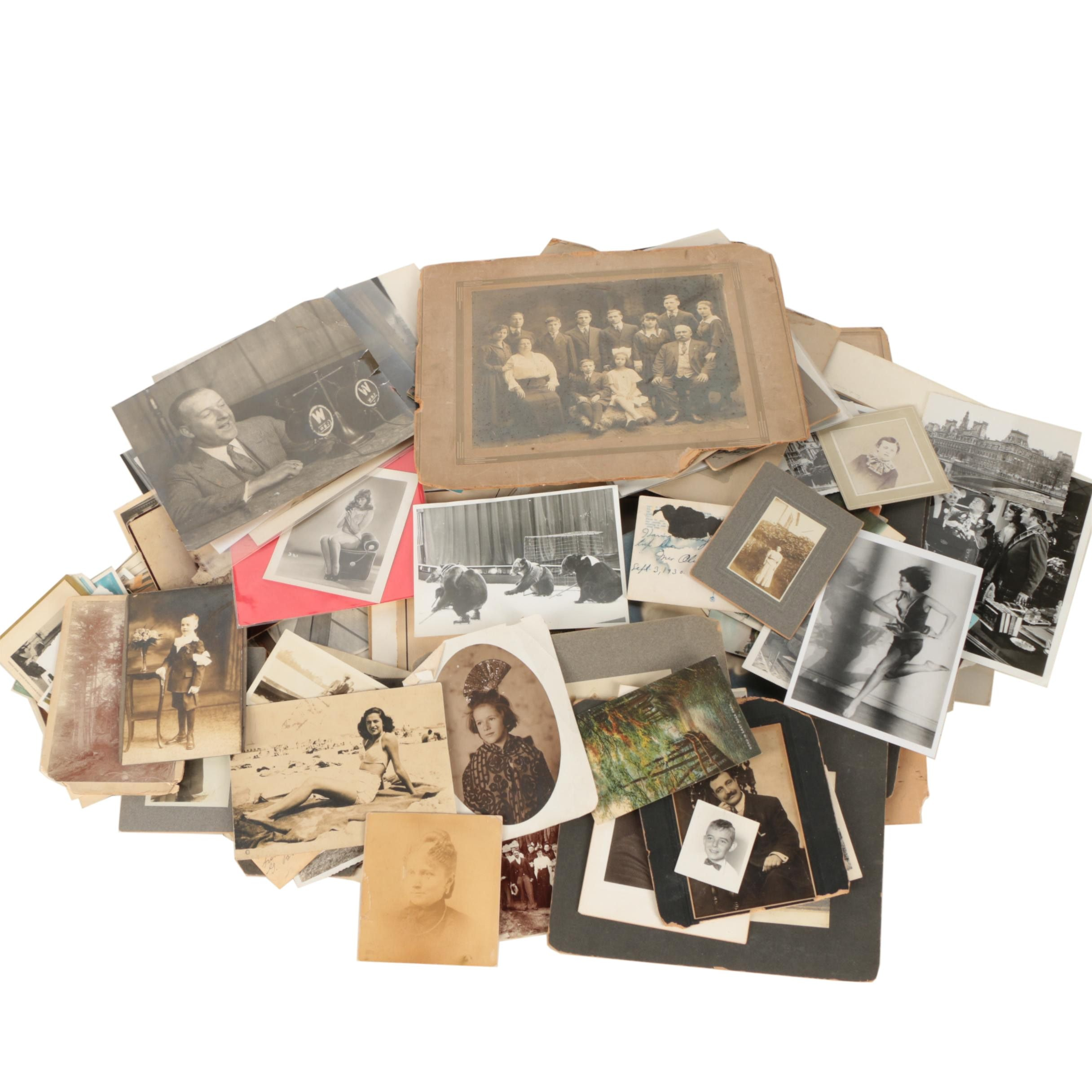 Antique and Vintage Photographs, Negatives, and Postcards