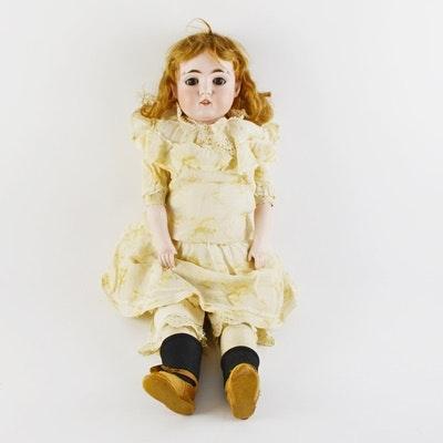 """Antique 14"""" German Kestner Doll, Mold 154"""