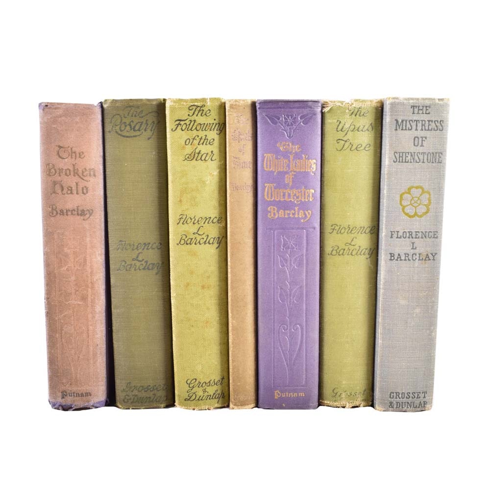 Antique Hardcover Books by Florence L. Barclay