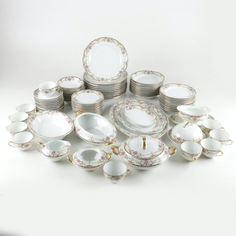 "Victoria ""Warwick"" Porcelain Tableware"