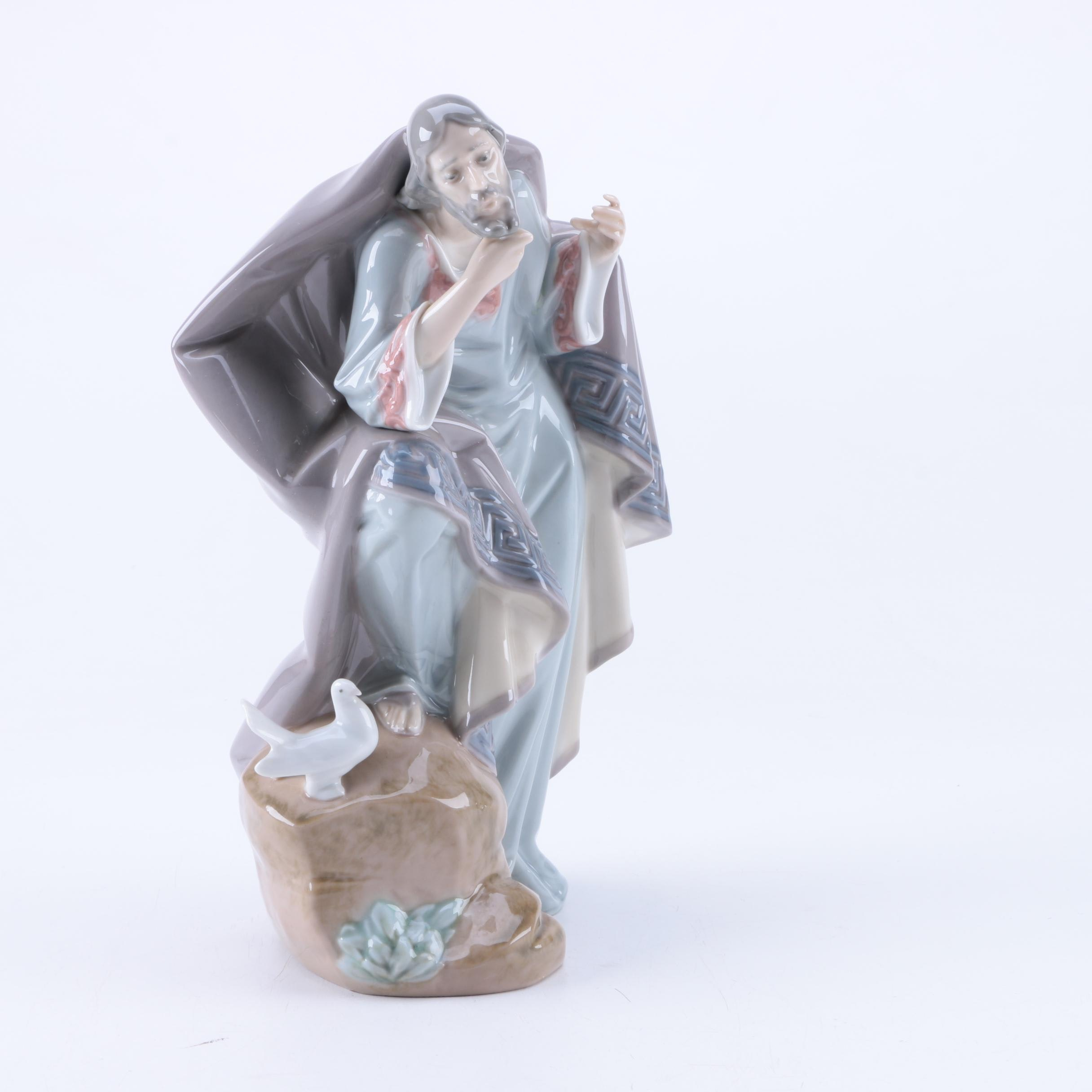 "Lladró ""Joseph"" Porcelain Nativity Figurine"
