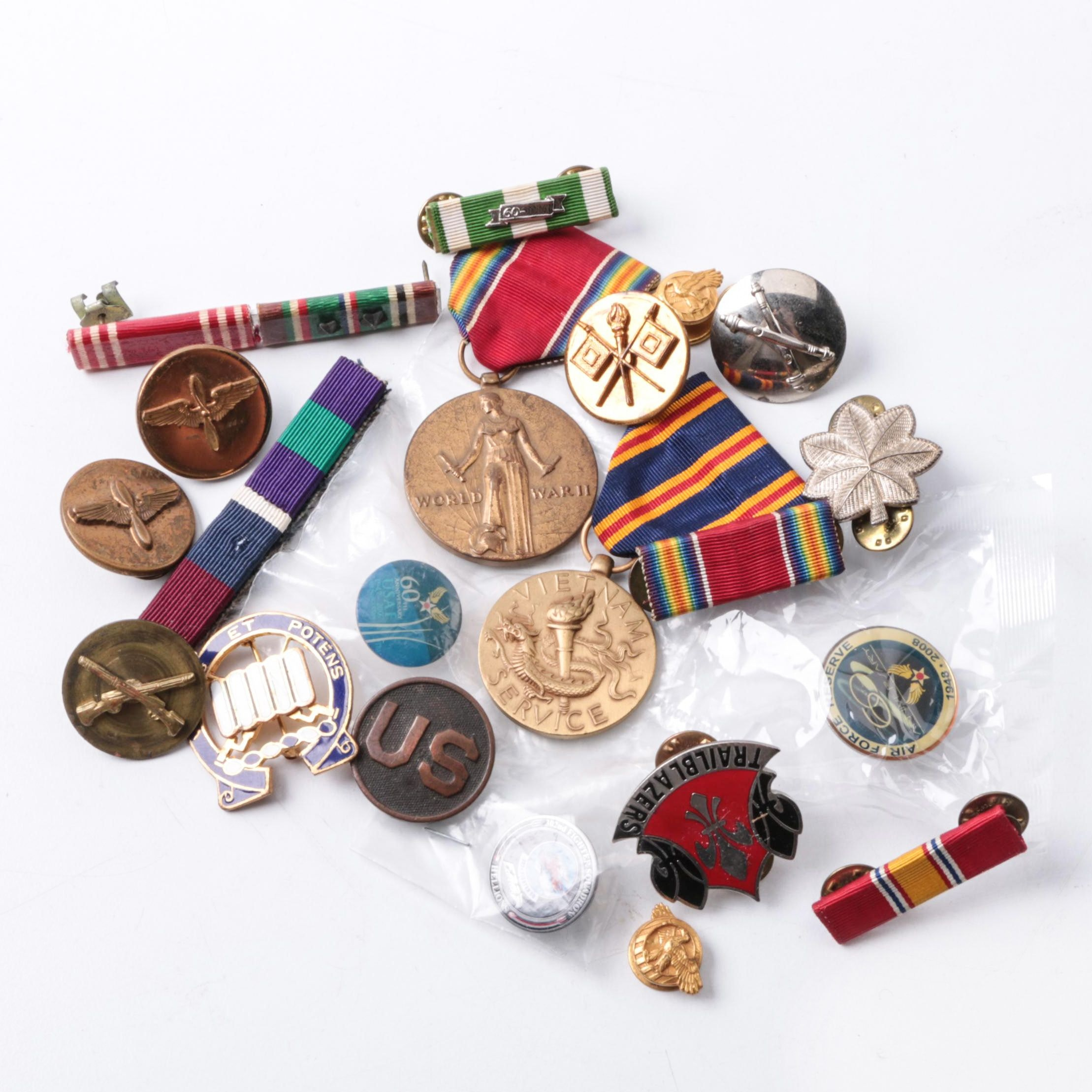 U.S. Military Medals and Badges