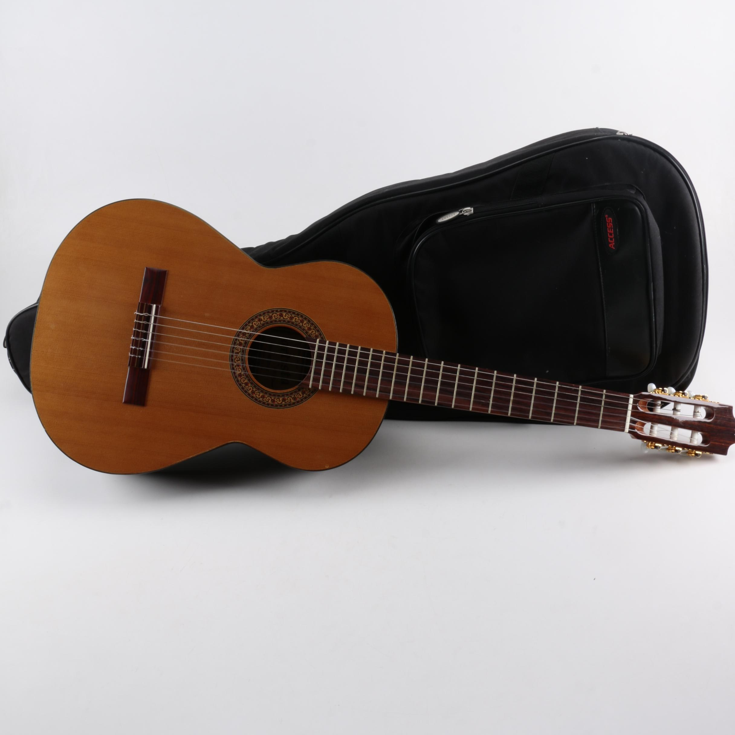 Spanish Artista by J. B. Player Segovia Classical Guitar With Case