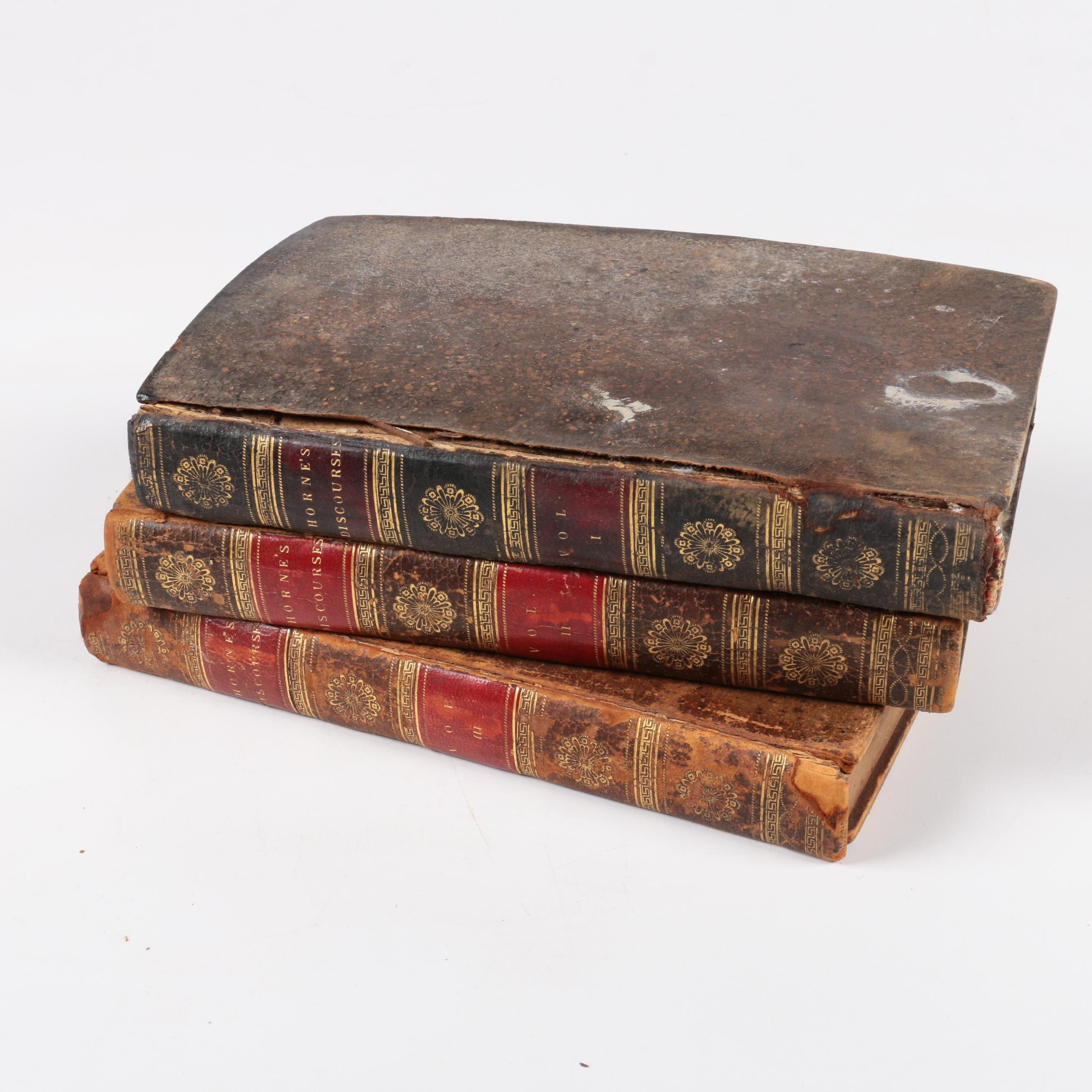 "1803 ""Discourses on Several Subjects and Occasions"" by George Horne"