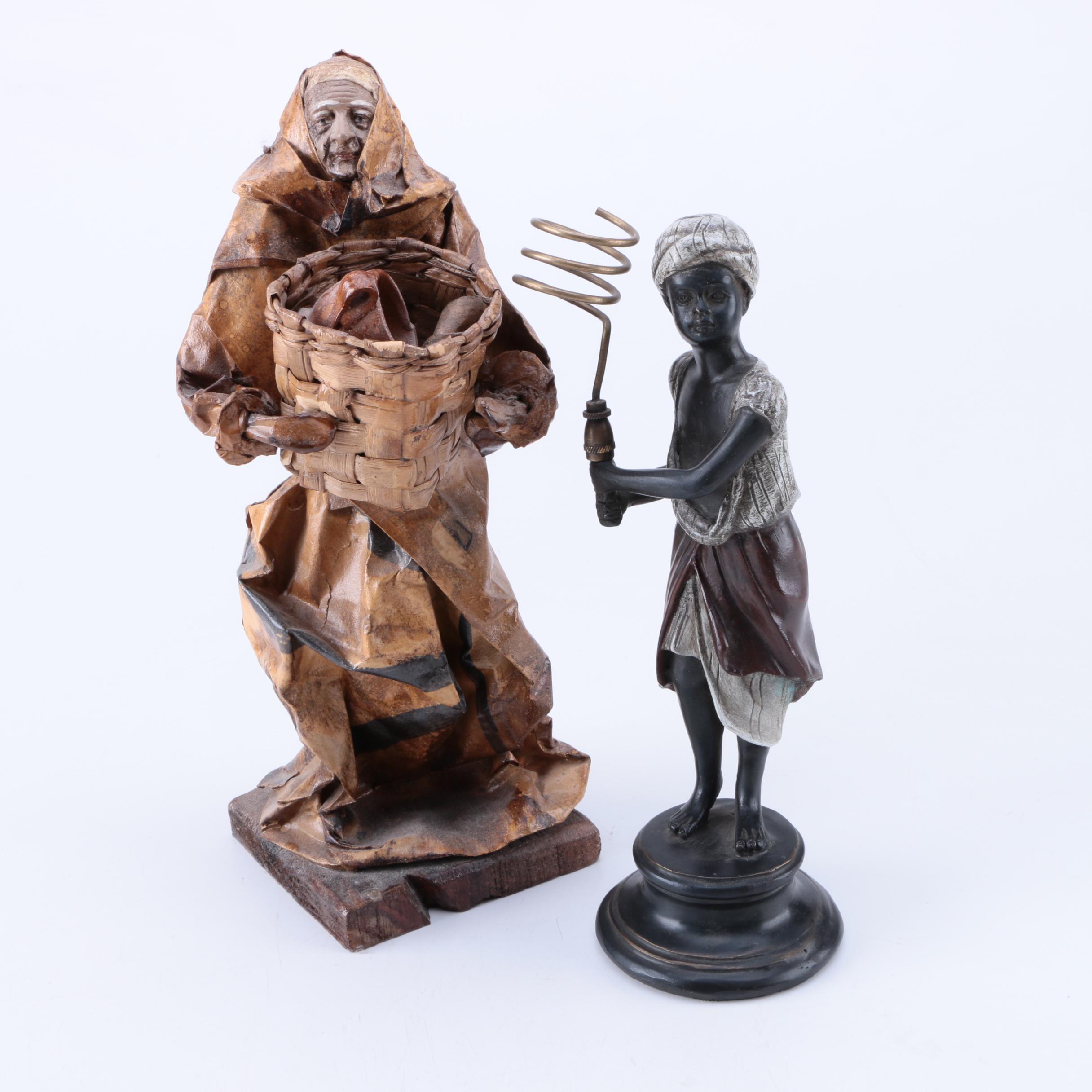 Pair of African Figurines