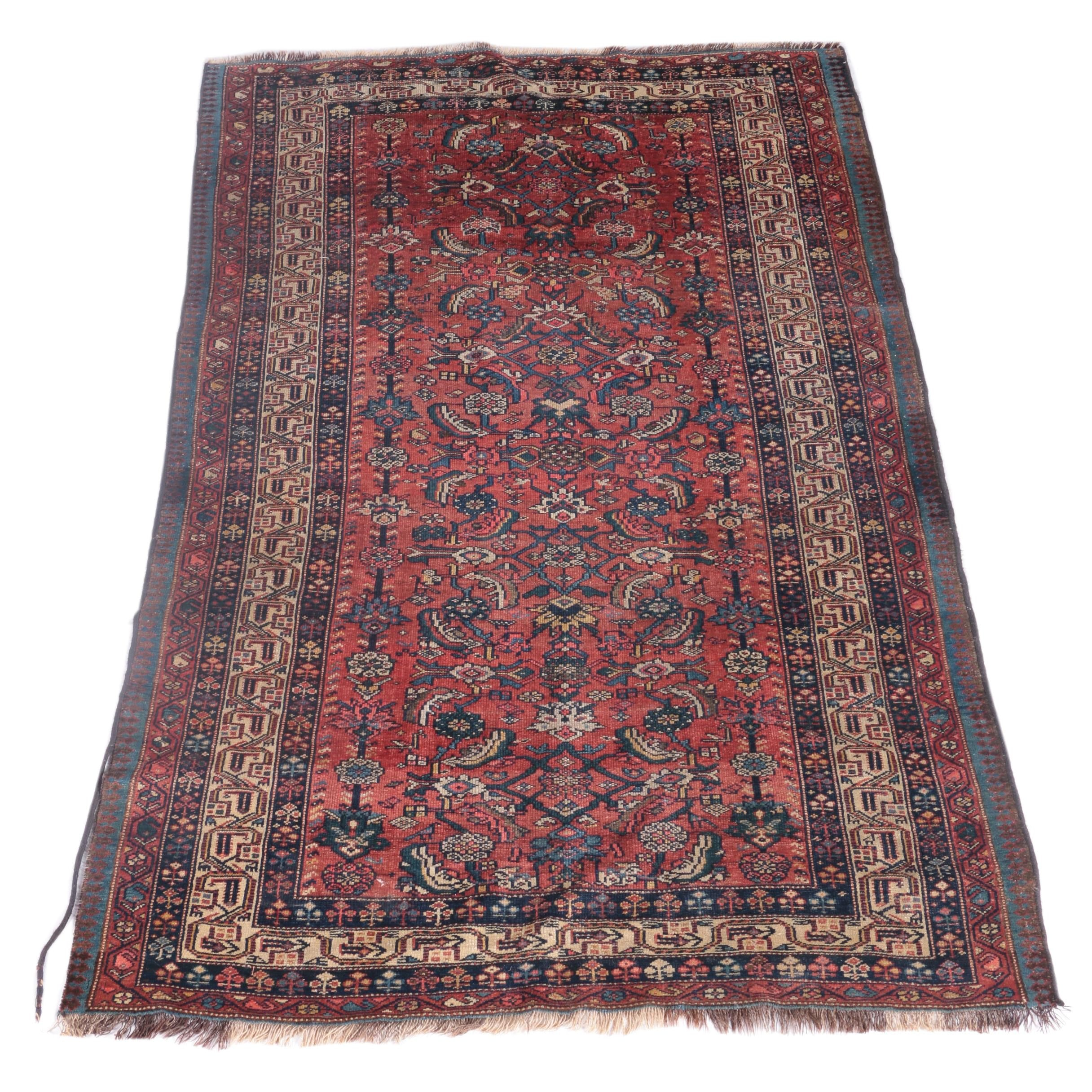 Hand-Knotted Mehriban Wool Area Rug