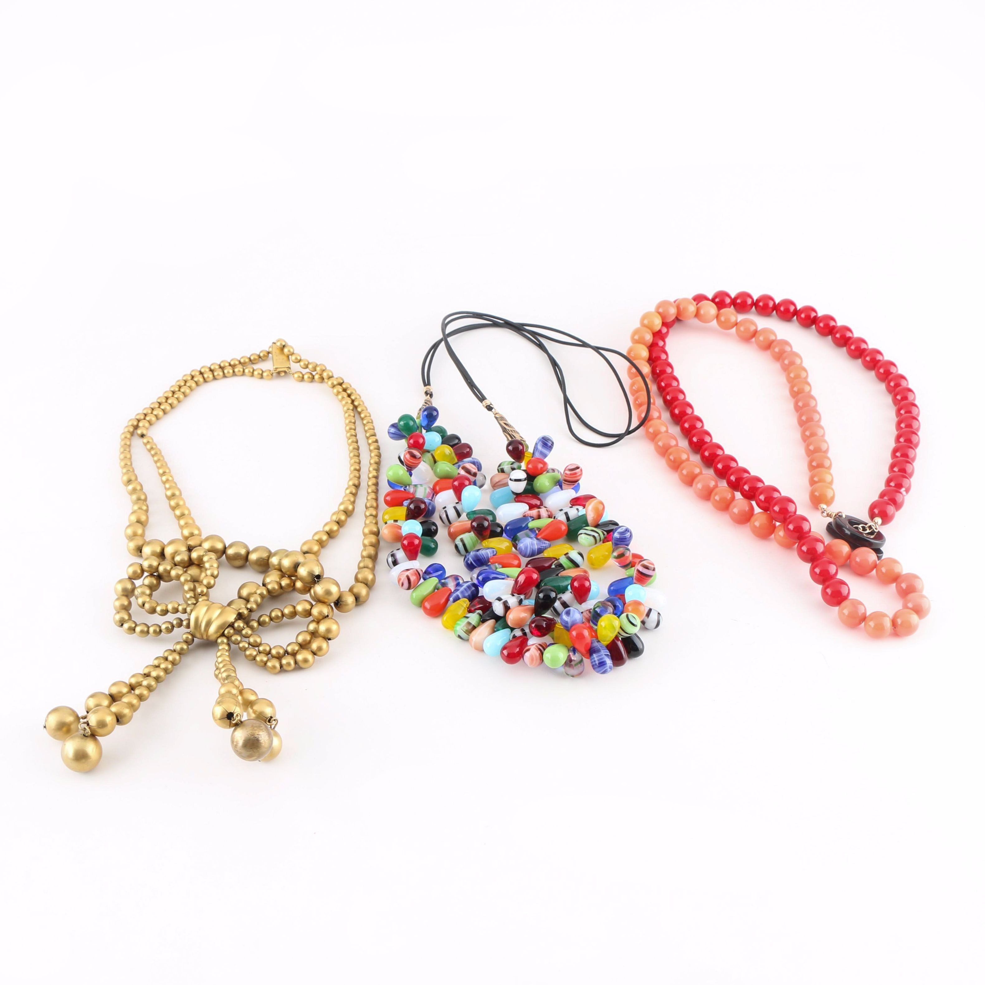 Beaded Necklace Assortment